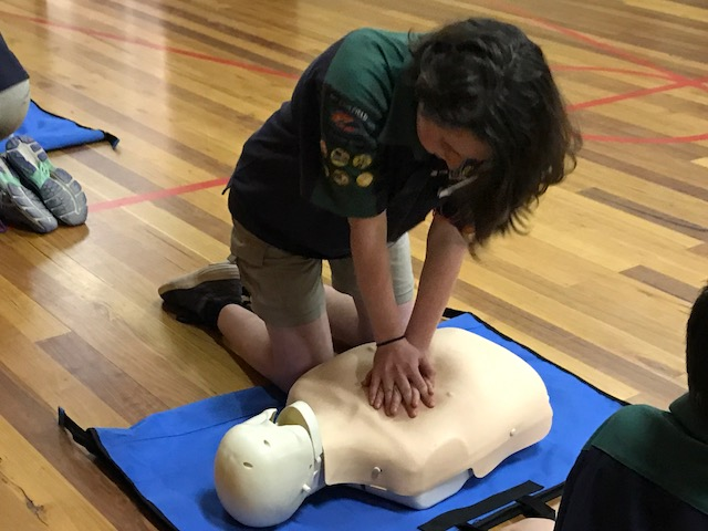 First Aid at Scouts