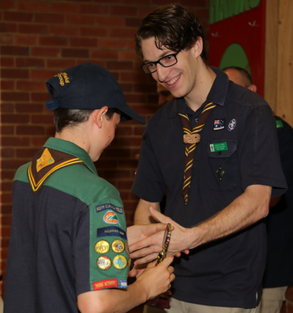 Tristan Cliff – Leader of Scouts