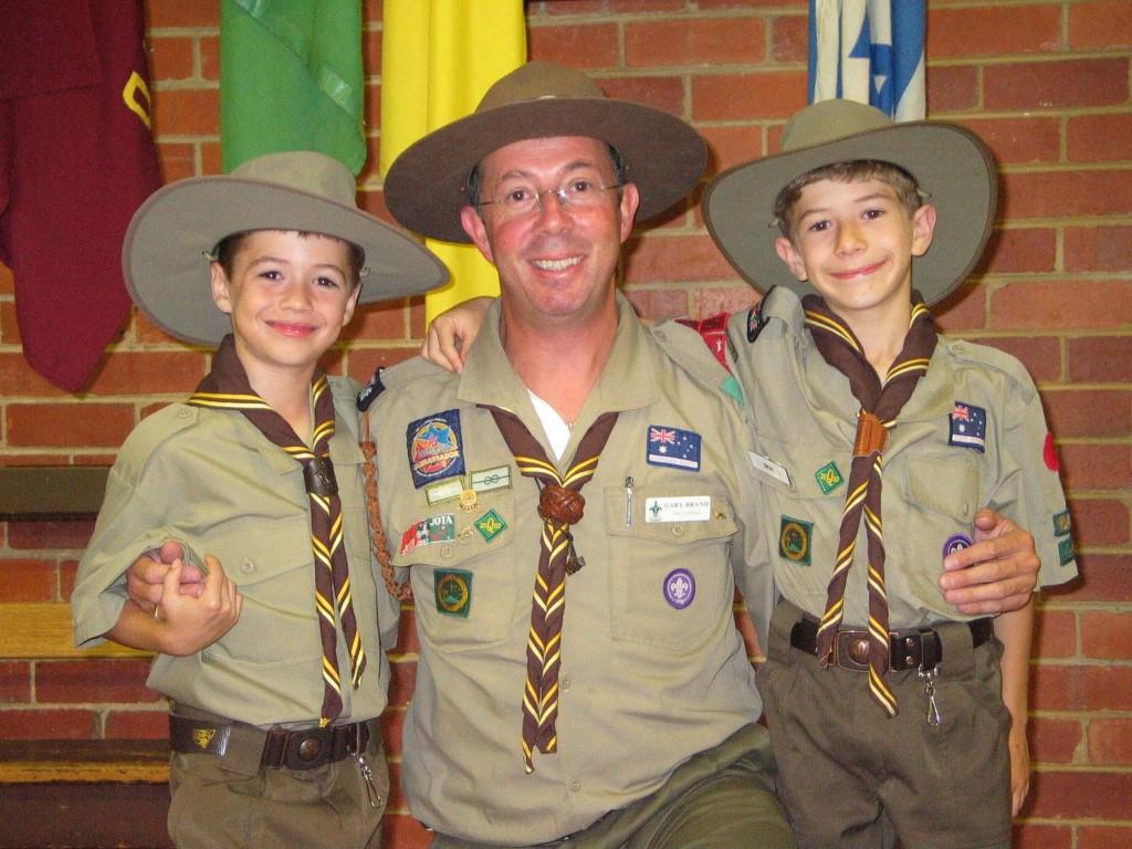 Robbie, Gary and Ben circa 2003